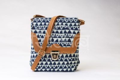 Indigo Aztec Triangle Compact S Sling