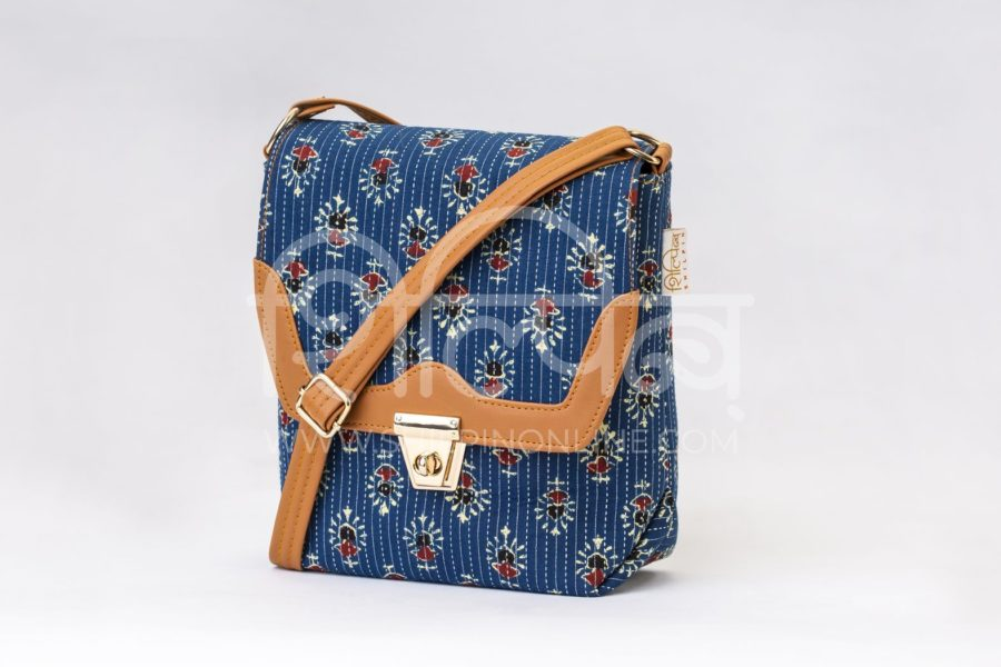 Blue Tribal Motif Compact S Sling2