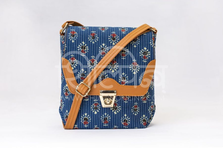 Blue Tribal Motif Compact S Sling