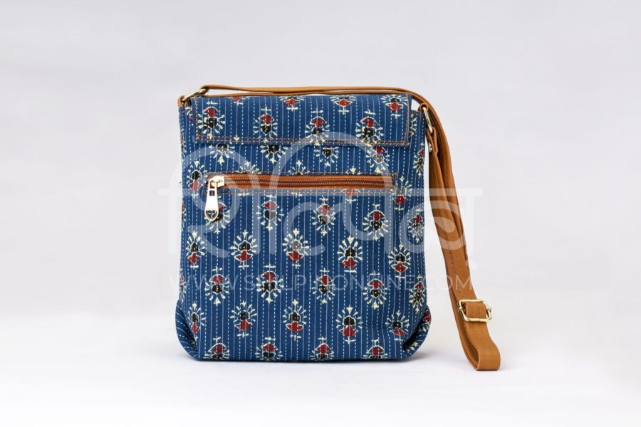 Blue Tribal Motif Compact S Sling3