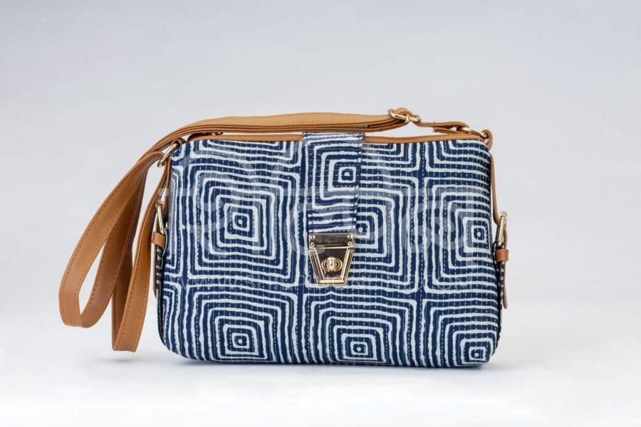 Indigo Square Capsule Sling Bag