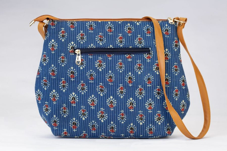Blue Tribal Motif Big Sling-2
