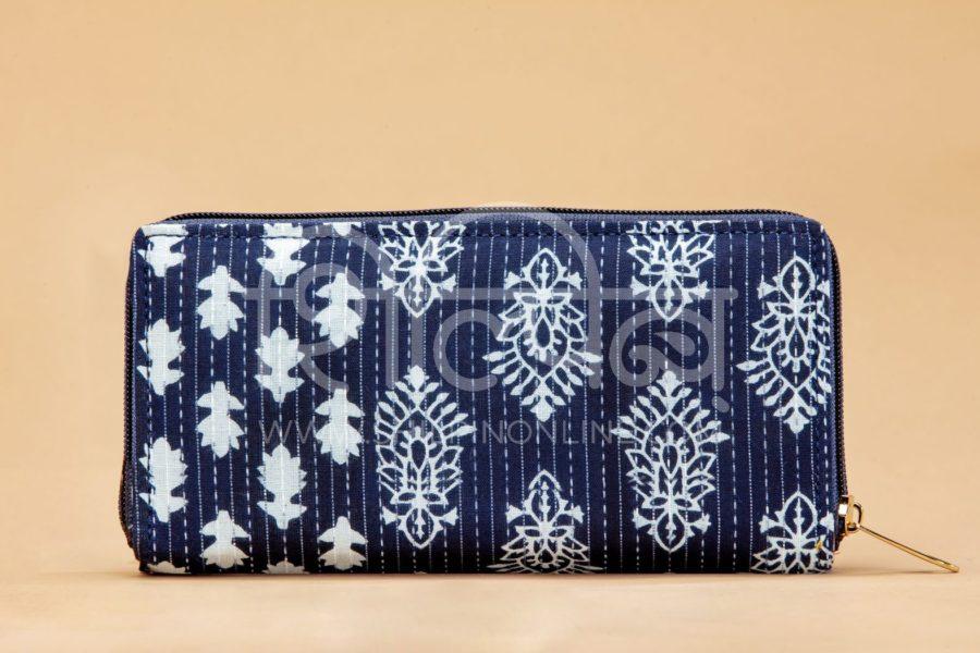 Indigo Collage Flap Wallet3