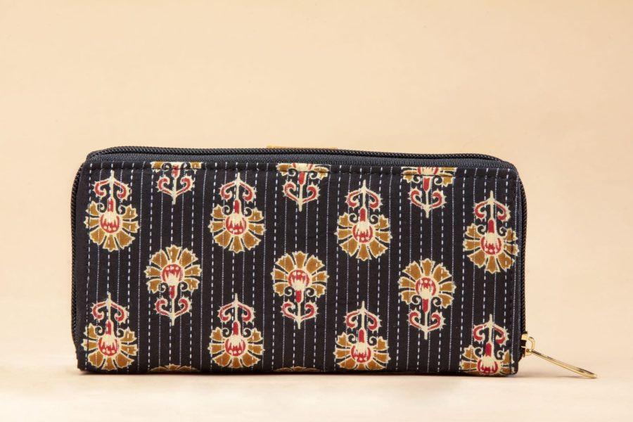 Black BeRe Marigold Flap Wallet-1