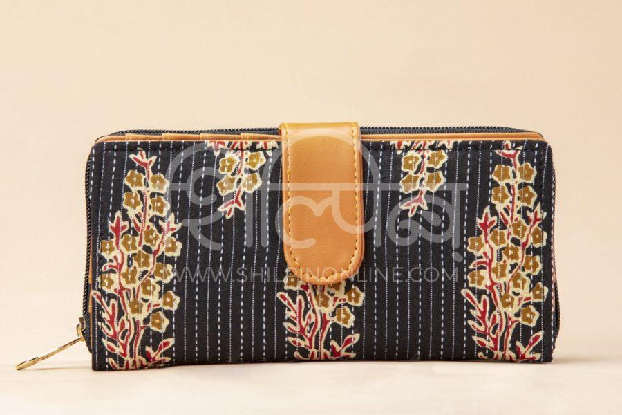 BB Tuft Block Flap Wallet