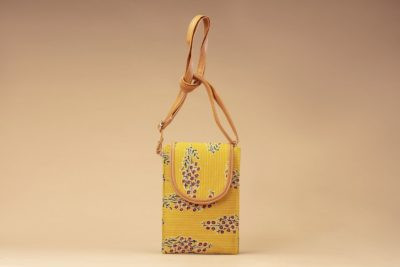 MustRed Fern Block Mobile Pouch