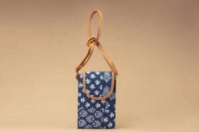 Indigo Collage Mobile Pouch