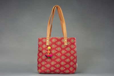 Red Spade Office Tote Bag