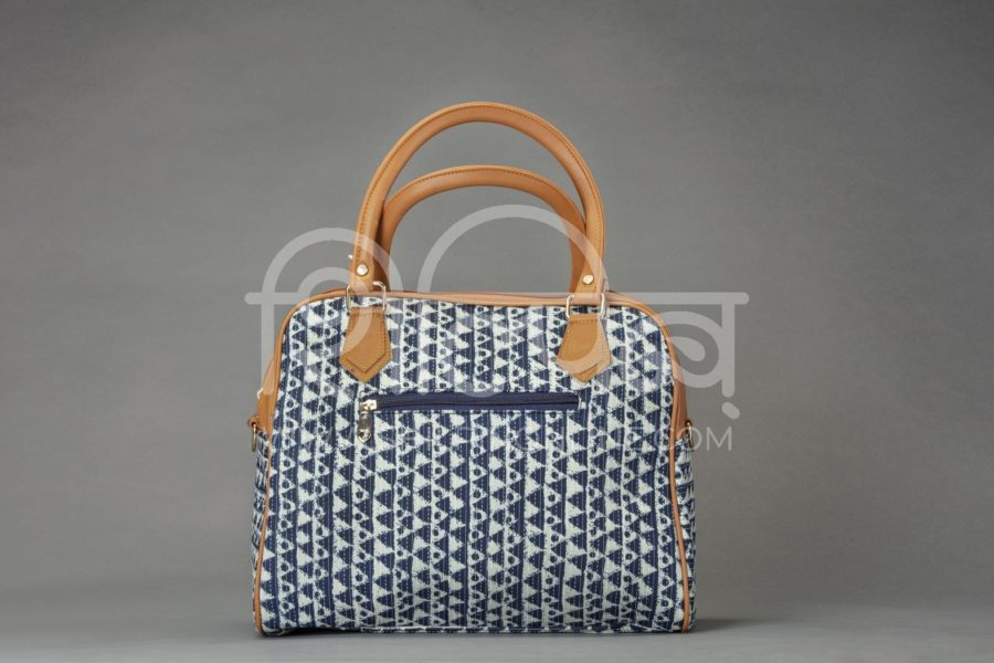 Indigo Aztec Triangle D Shoulder Bag2