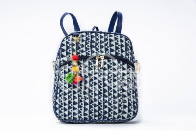 Indigo Aztec Triangle Modular BackPack