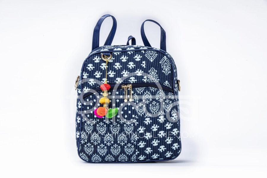 Indigo Collage Modular BackPack