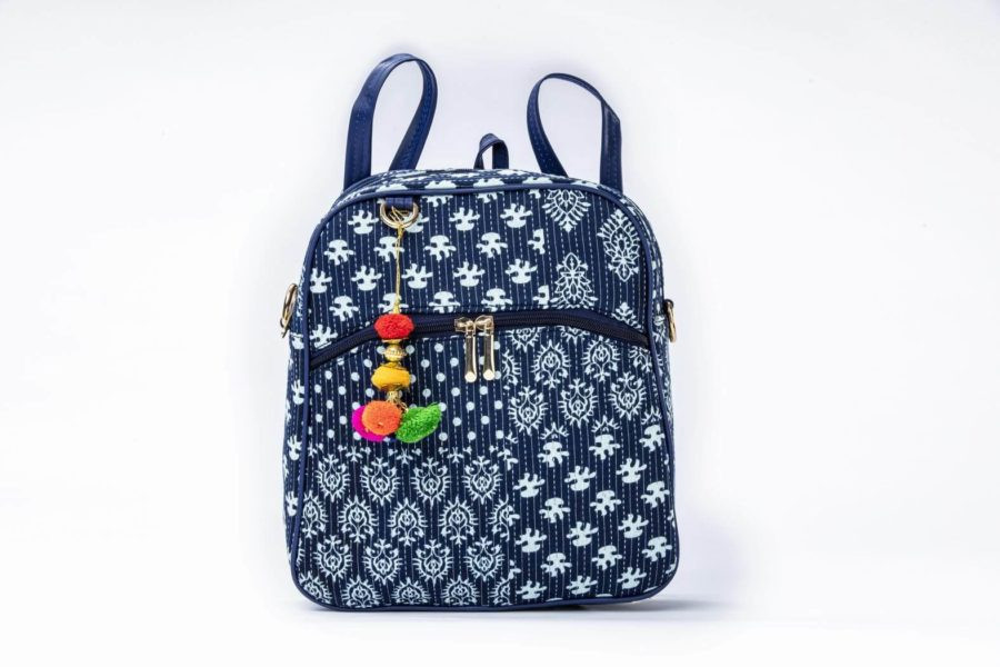 Indigo Collage Modular BackPack