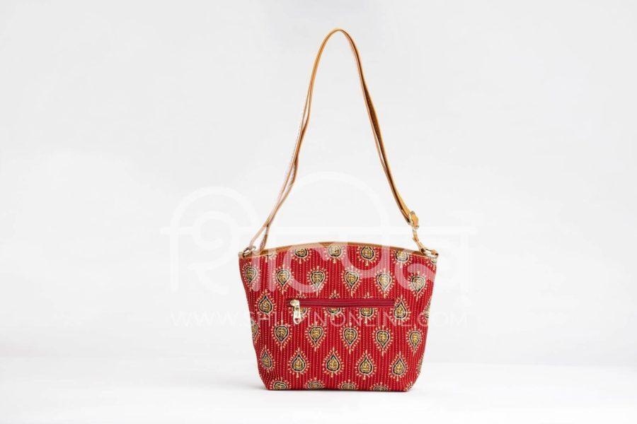 Red Spade Basket Sling3