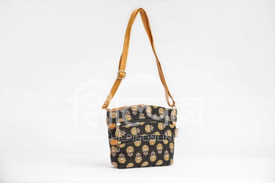 Black BeRe Marigold Basket Sling2