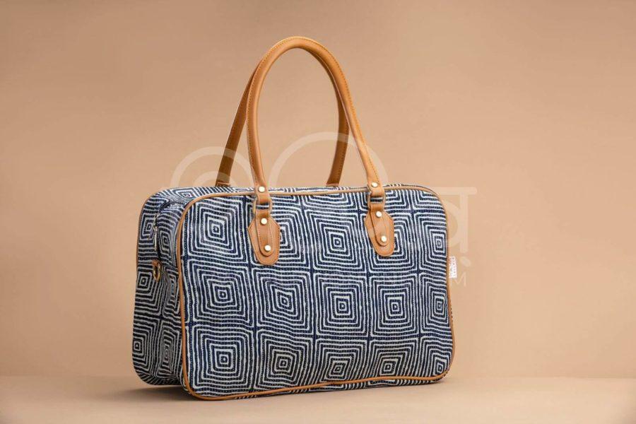 Indigo Square Travel Bag 1