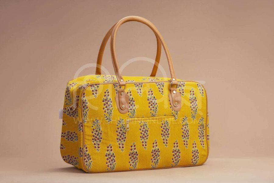 MustRed Fern Block Travel Bag 1