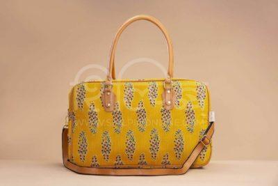 MustRed Fern Block Travel Bag