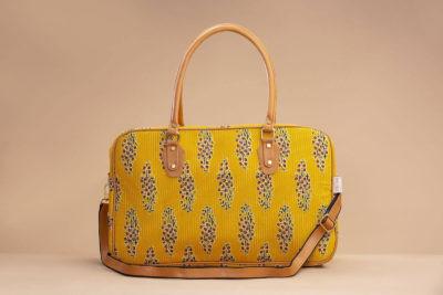 MustRed Fern Block Travel Bag-1