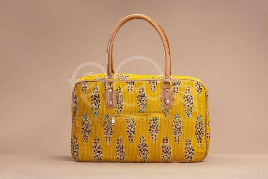 MustRed Fern Block Travel Bag 2