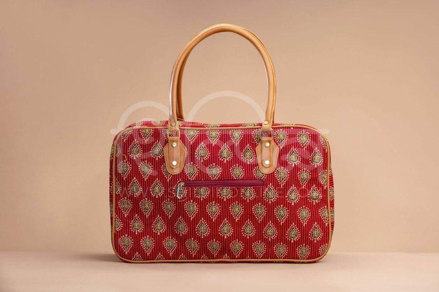 Red Spade Travel Bag 2