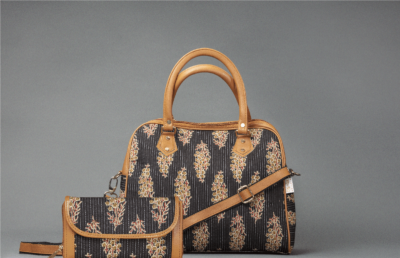 BB Tuft Block D Shoulder Bag + Double Zipped Wallet