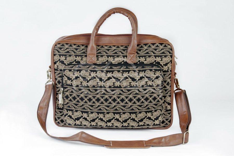 Lucknowi Stitch BB Laptop Bag