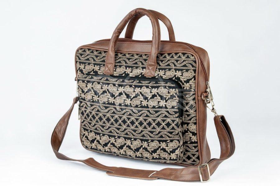 Lucknowi Stitch BB Laptop Bag2