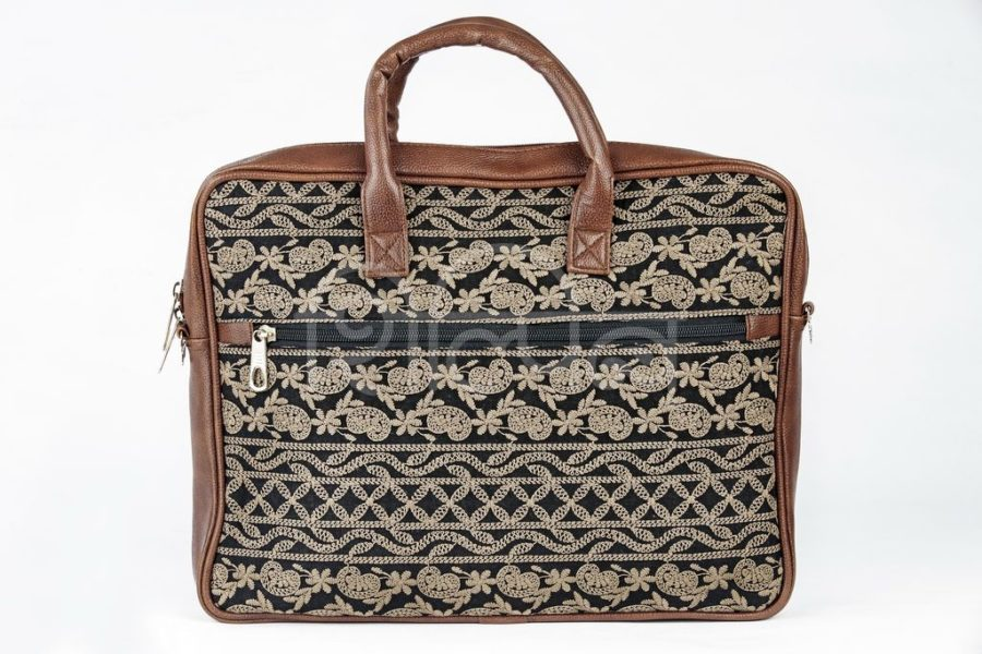 Lucknowi Stitch BB Laptop Bag3