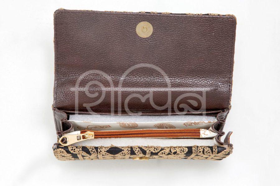 Inside Double Flap Wallet